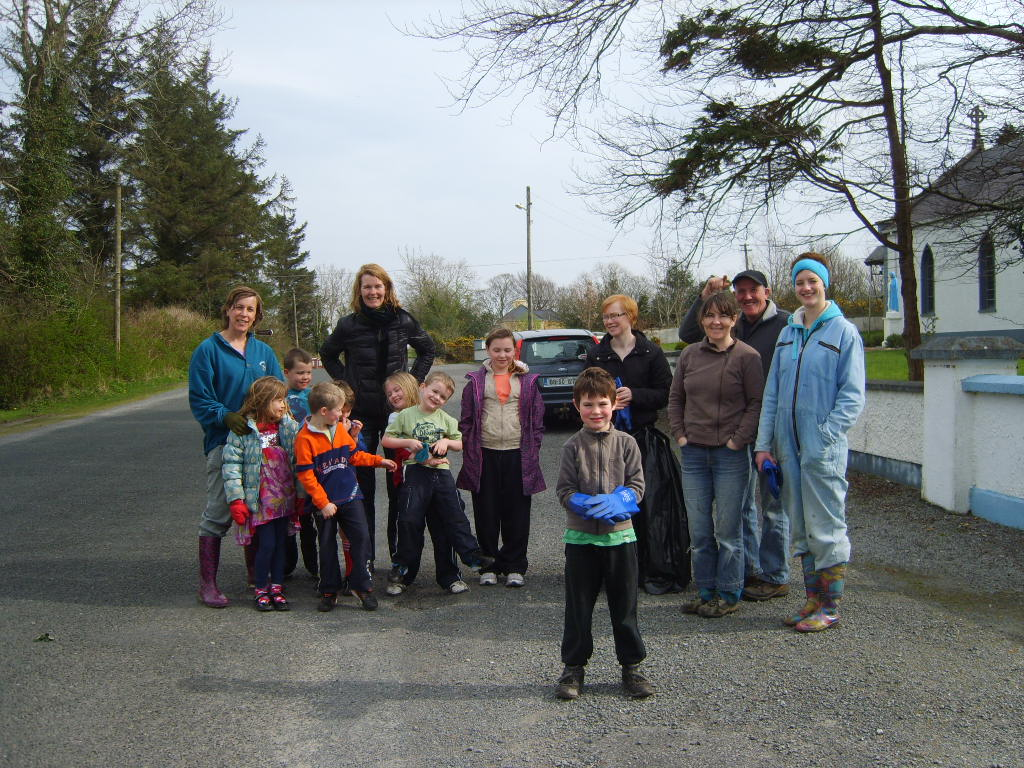 Annual Clean up around Ballintrillick