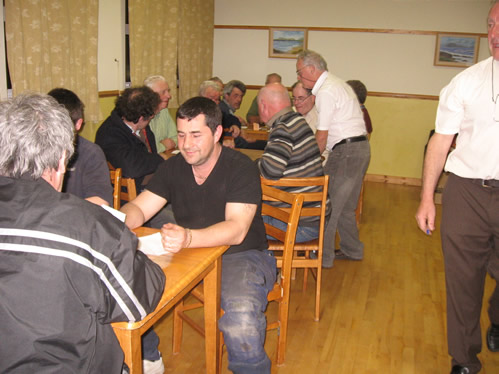 Regular card games at The Benwiskin Centre