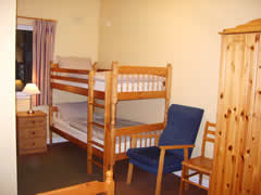 Double family room at Benwiskin Centre Accommodation